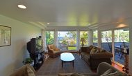 Beaches vacation rental house living room